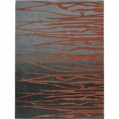 Lakeside LAK01 Rectangle Rug, Grey/Brick, 2.3-Feet by 8.0-Feet by Lakeside. $379.00. Hand tufted area rug. 100-percent wool pile. Imported from india. 100% Wool. Bold and beautiful, these luxurious, hand tufted rugs feature transitional flora-inspired abstract designs. Exquisite craftsmanship, fashion-forward style, unique patterns and striking colors are hallmarks of this collection.