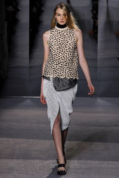 Proenza Schouler Fall 2013 RTW - Review - Fashion Week - Runway, Fashion Shows and Collections - Vogue
