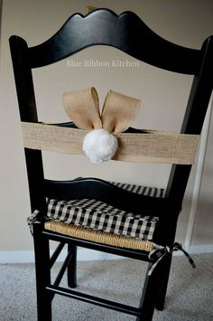 If you need the perfect addition to your Easter table...Hop to it, and make these super-cute and EASY bunny ear chair wraps. A charming way to add a little fun…