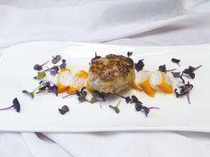 Ofenkürbis - Hokkaido aus dem Ofen mit Gruyère-Schaum