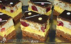 Neked is van toplistád? Hungarian Desserts, Hungarian Recipes, My Recipes, Cookie Recipes, Dessert Recipes, Sweet Cookies, Cake Cookies, Ital Food, Bakery