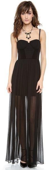Alice + Olivia Shakira Bustier Maxi Dress on shopstyle.com