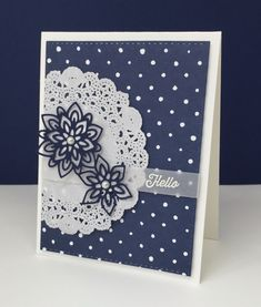 This week at Stamp Ink Paper, we have a monochromatic challenge for you. I always love those and knew right away that I was going to pull out the extraordinary Floral Boutique DSP and the coordinating Handmade Birthday Cards, Greeting Cards Handmade, Paper Cards, Diy Cards, Tarjetas Stampin Up, Stamping Up Cards, Card Sketches, Sympathy Cards, Flower Cards
