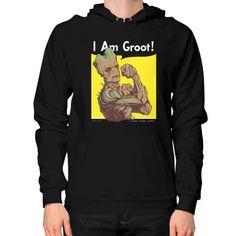I AM GROOTHoodie (on man)