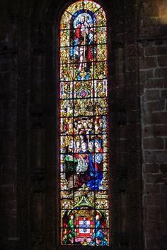 Igreja de Santa Maria de Belém, Mosteiro dos Jeronimos vitral