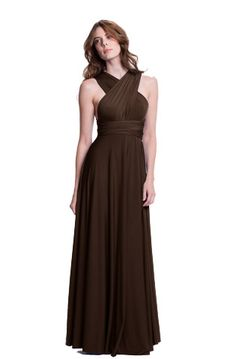 The Sakura Convertible Long Gown Dress is perfect for more formal occasions and embraces the maxi dress trend. #henkaa #convertible #dress #style #fashion #maxi $158.00 www.henkaa.com
