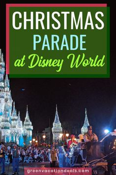 Mickey's Once Upon a Christmastime Parade at Disney World 2019 Disney Christmas Party, Very Merry Christmas Party, Christmas Events, Christmas Travel, Holiday Travel, Christmas Holiday, Disney Resorts, Disney Vacations, Disney Trips