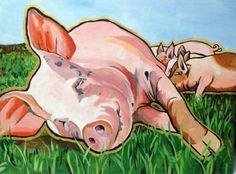 """Her Babies At Farm Sanctuary"" | Julia Nursing"