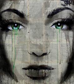"Saatchi Art Artist Loui Jover; Drawing, ""fable"" #art"