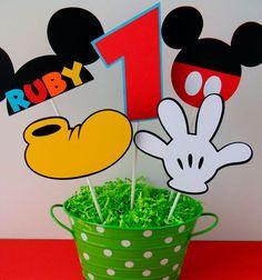 decoração para festa do mickey