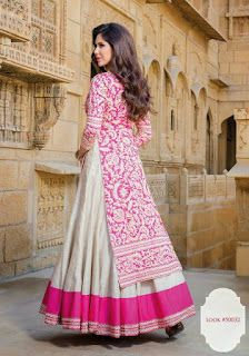 Indian Long Gowns Outfits Attire Wear Clothes Bridal Fashion Stani Dresses Designer Anarkali