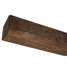 Superior Building Supplies in. x 14 ft. 9 in. Faux Wood Beam-T 17 B - The Home Depot Industrial Farmhouse Decor, Farmhouse Chandelier, Wood Ceilings, Ceiling Beams, Small Cottage Homes, Faux Wood Beams, Cedar Homes, Home Ceiling, European Home Decor