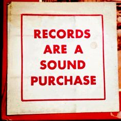 Records Are A Sound Purchase Power Metal, Old Music, Music Love, Rex Manning Day, Empire Records, Folk, Vinyl Quotes, Music Quotes, Vinyl Junkies