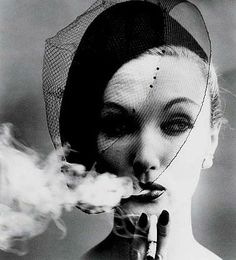 Fonssagrieves  by William Klein, Smoke and Veil, 1958