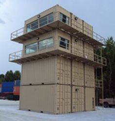 Custom Built Container Tower