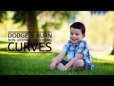 Dodge & Burn Non-Destructively Using Curves » Floating Lights   Photoshop Actions and Tutorials