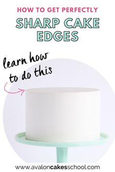 Cake Decorating For Beginners, Cake Decorating Videos, Cake Decorating Techniques, Drip Cake Tutorial, Fondant Cake Tutorial, Cake Filling Recipes, Cake Frosting Recipe, Buttercream Cake Designs, Buttercream Wedding Cake