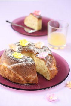 Verdade de sabor: Cake with pear and white chocolate / Bolo de pêra e chocolate branco