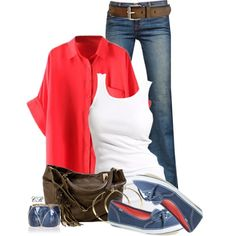 A fashion look from August 2014 featuring Soaked in Luxury tops, J Brand jeans and Keds flats. Browse and shop related looks.