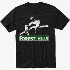 Forest+Hills+Drive+Logo+J+Cole+Dreamville+Black+T-Shirt+Screen+Printing