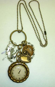 Key ring on a long ball chain, charms and bits from bsueboutiques.com and resin (ICE resin, of course)
