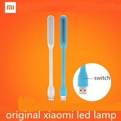Upgrade!With Switch Original Xiaomi USB Light Xiaomi LED Light with USB for Power bank/comupter Portable Shining Led Lamp