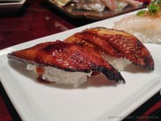 Food Porn Friday posts on Haute Khuuture Blog featuring my favorite sushi restaurants omakase. Features: Sushi Murasaki in Santa Ana, CA