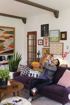 Singular Style: Inspirational House Tours from Men Living on Their Own