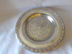 Wm A Rogers Silverplate Butter Underplate by MemmoryAlley on Etsy, $35.00