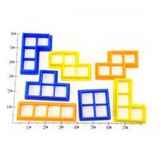 Tetris Blocks Cookie Cutter Set