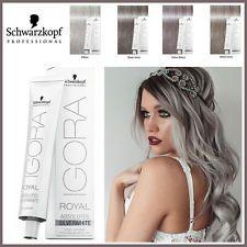 Schwarzkopf Igora Royal-Grijs Lila, Dove Grey, Silver, Slate Grey Hair Dye / Kleur