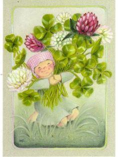 Kaarina Toivanen Gifs, Funny Drawings, Gif Animé, Medicinal Herbs, Creative Cards, Craft Activities, Gnomes, Glass Art, Finland