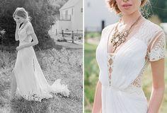 LOVE this detail!!  Samuelle Couture Wedding Dress