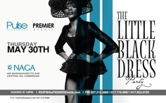 "From the company that brought you The ""Pur"" All White Memorial Party featuring MYA, they are back at it again with another twist. The ying to their yang party. This Thursday, we present to you the Little Black Dress Party!         Naga Night Club  450 Massachusetts Ave.  Cambridge, MA 02139    Tables/Info – Bottle Specials available, contact jason@nagacambridge.com or 857.991.7164    Website: www.nagacambridge.com  Like us on Facebook: Naga  Follow us on Twitter: nagacambridge"