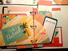 Just a TAD Crafty : Post Card Perfect Mini Album--May Promo--my way
