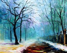 WINTER FOG by Leonid Afremov