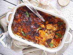 Karkowka-zapiekana-majonezem-i-grzybam-Pork-neck-baked-with-mushrooms-and-mayonaisse