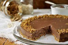Τούρτα με σοκολάτα, γιαούρτι & δημητριακά   Chocolate yogurt & cereal torte