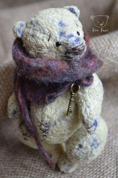 Teddy bear / Мишки Тедди ручной работы. Ярмарка Мастеров - ручная работа. Купить Joy. Handmade. Лимонный, мишка тедди, медведь, диски