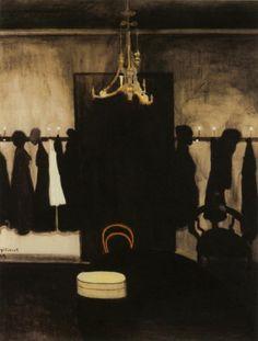 Leon Spilliaert (Be 1881-1946) Interior beauty parlor (1909)
