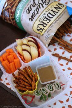 Peanut-Free #PretzelsBaby!  Easy Back to School Lunch Idea