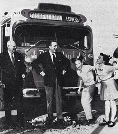 Walt Disney and the Disneyland Express