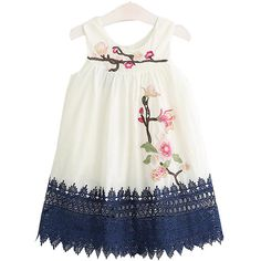 Toddler Dress, Toddler Outfits, Baby Dress, Girl Outfits, Cute Flower Girl Dresses, Dresses Kids Girl, Floral Embroidery Dress, Embroidered Flowers, Embroidery Patterns