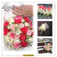 Linda a Jan, svatební květiny
