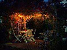 undefined Pergola Lighting, Outdoor Furniture, Outdoor Decor, Lights, Park, Home, Ad Home, Parks, Lighting