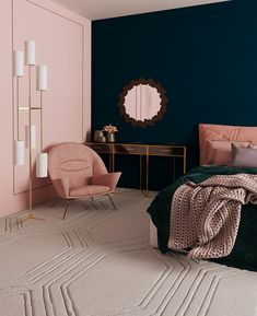 Cute Home Decor bedroom ideas Cute Home Decor Gold Bedroom, Home Decor Bedroom, Living Room Interior, Living Rooms, Diy Bedroom, Art Deco Interior Bedroom, Jewel Tone Bedroom, Bedroom Wall Designs, Queen Bedroom