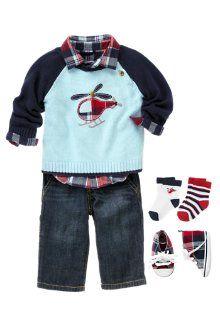 I love preppy baby boy clothes :)