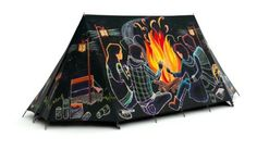 FieldCandy By the Light of the Fire Campfire Camping Tent