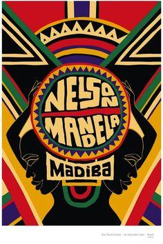 Mandela em Cartaz - Ana Paula Caldas #  Brasil