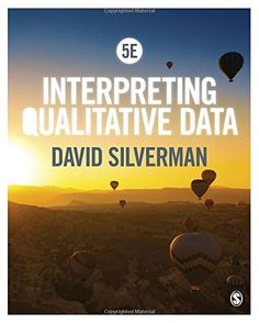 Interpreting Qualitative Data by David Silverman